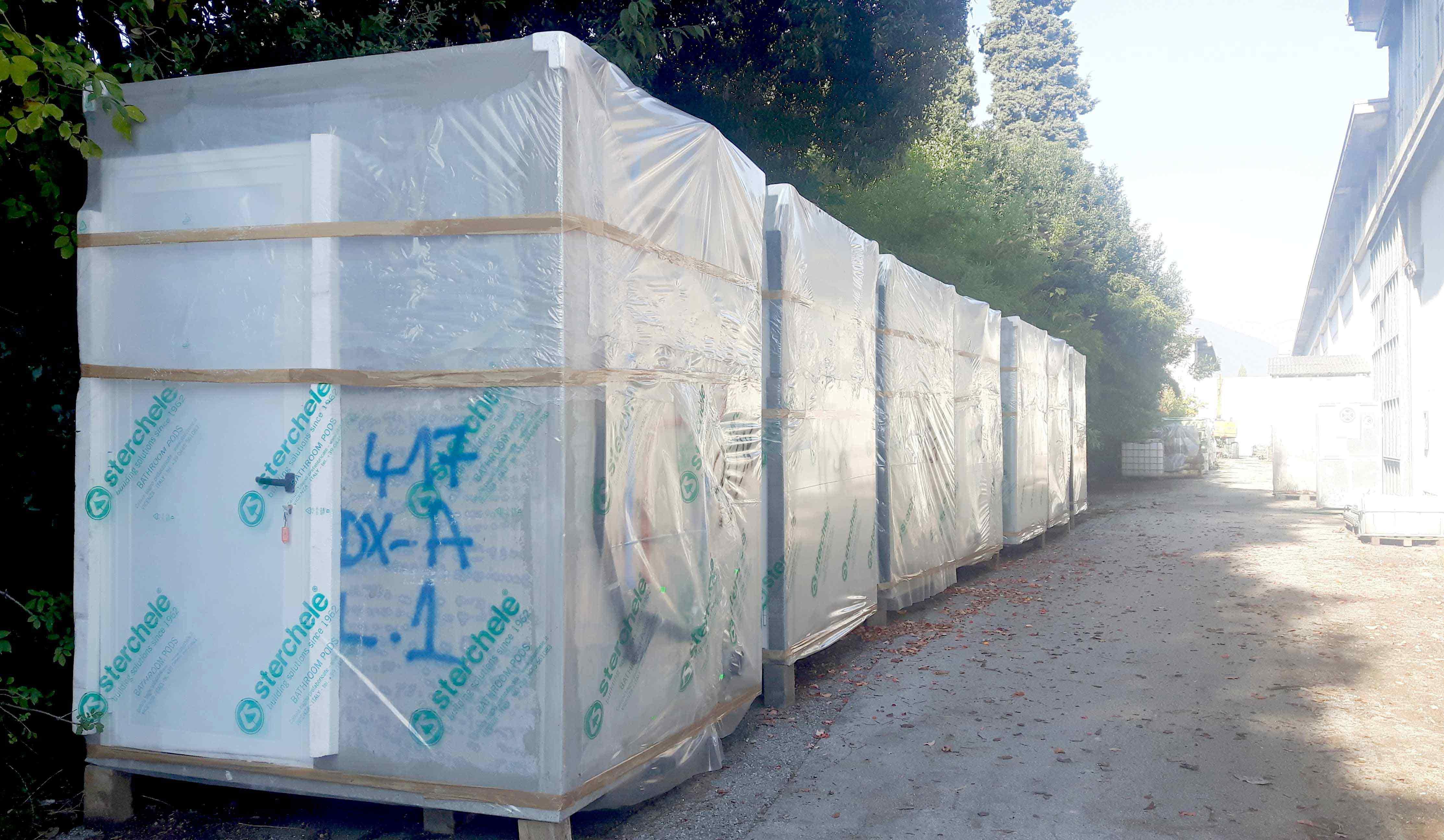 Trasporto dei Bagni Prefabbricati | CelluleBagno