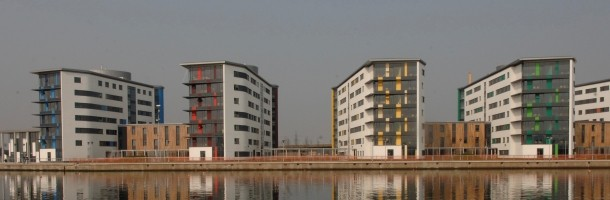 Docklands Student Village, University of East of London (UK)  - Cellule Bagno