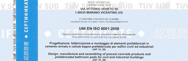 Certificazioni sui bagni prefabbricati