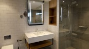 bathroom pods hilton victoria square