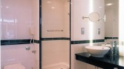 Tyne Bridge Hilton Hotel, Newcastle (UK) - cellule bagno